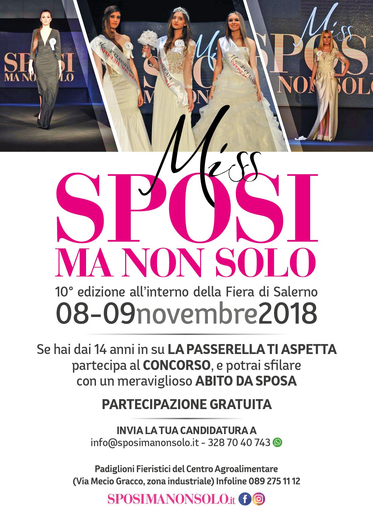 LOCANDINA MISS Sposimanonsolo 2018