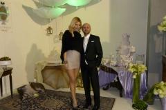 La Bonas di Bonolis Paola Caruso e il wedding planner Domenico Villano