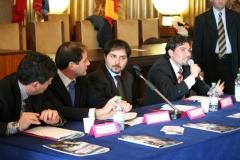 2010_Un momento della conferenza stampa al Comune di Salerno
